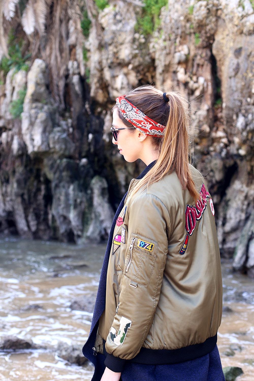 Liebreizend-Fashionblog-Tirol-Innsbruck-Outfit-Zara-Bomberjacke-Patches-Lissabon-Cascais1