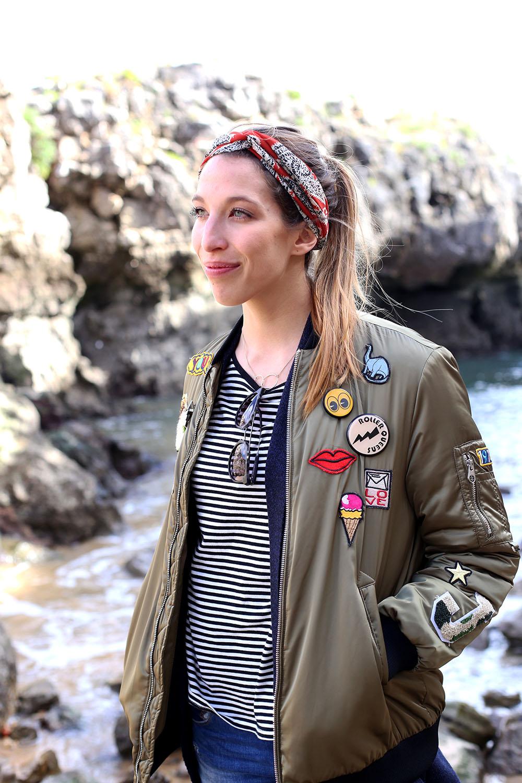 Liebreizend-Fashionblog-Tirol-Innsbruck-Outfit-Zara-Bomberjacke-Patches-Lissabon-Cascais