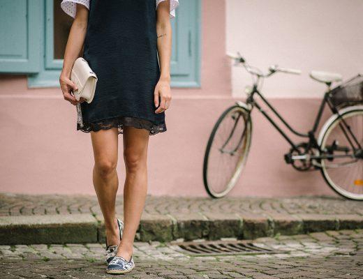 Slip Dress von Mango, Sommer Outfit, Espadrilles, Furla Lookalike Tasche