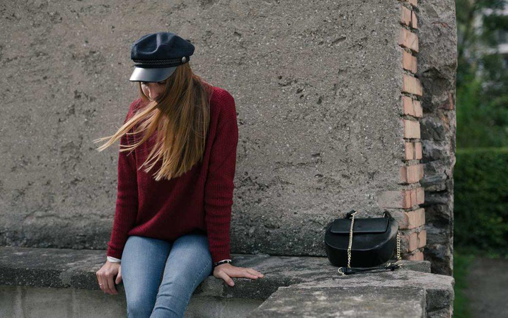 Outfit: Strickpulli, Elbsegler und Gedanken zu den Gilmore Girls