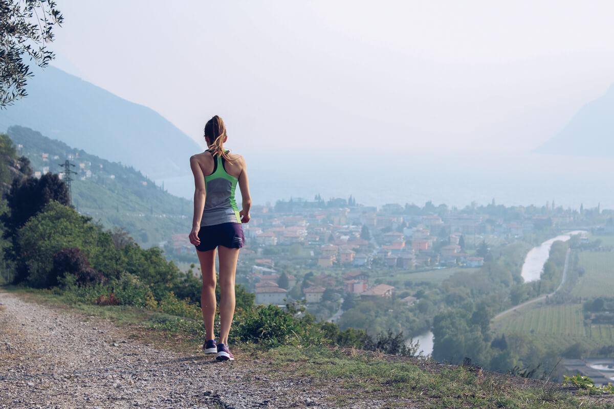 Trail Running mit Salomon, Trail Running Workshop, Salomon Sense Pro Max W