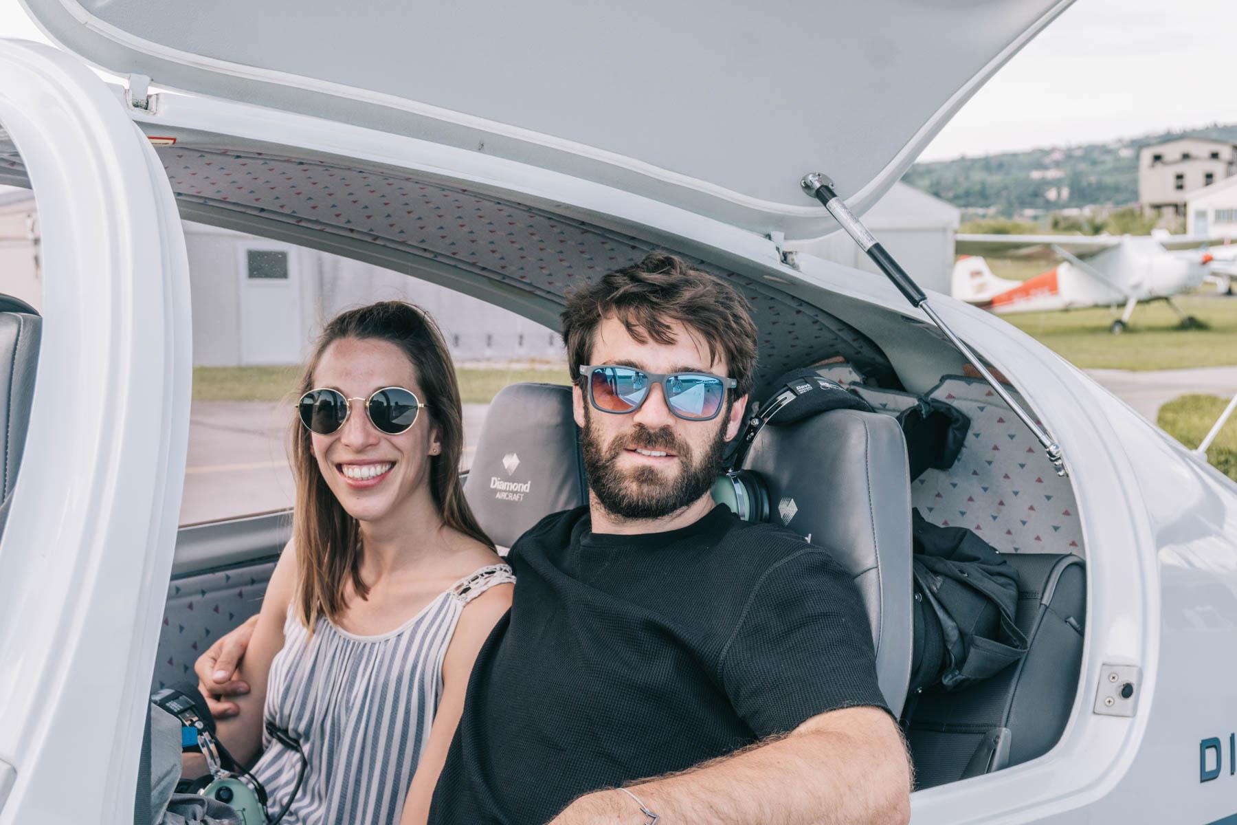 Alpenrundflug: Von Innsbruck nach Portoroz (Slowenien)