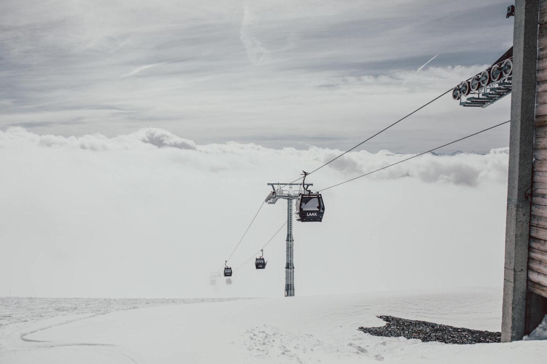 Skifahren in der Schweiz: Winter Wonderland Laax