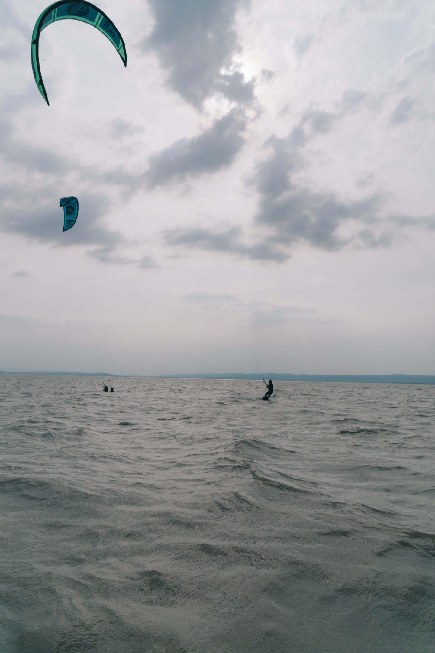 Kitesurfen in Podersdorf am Neusiedler See