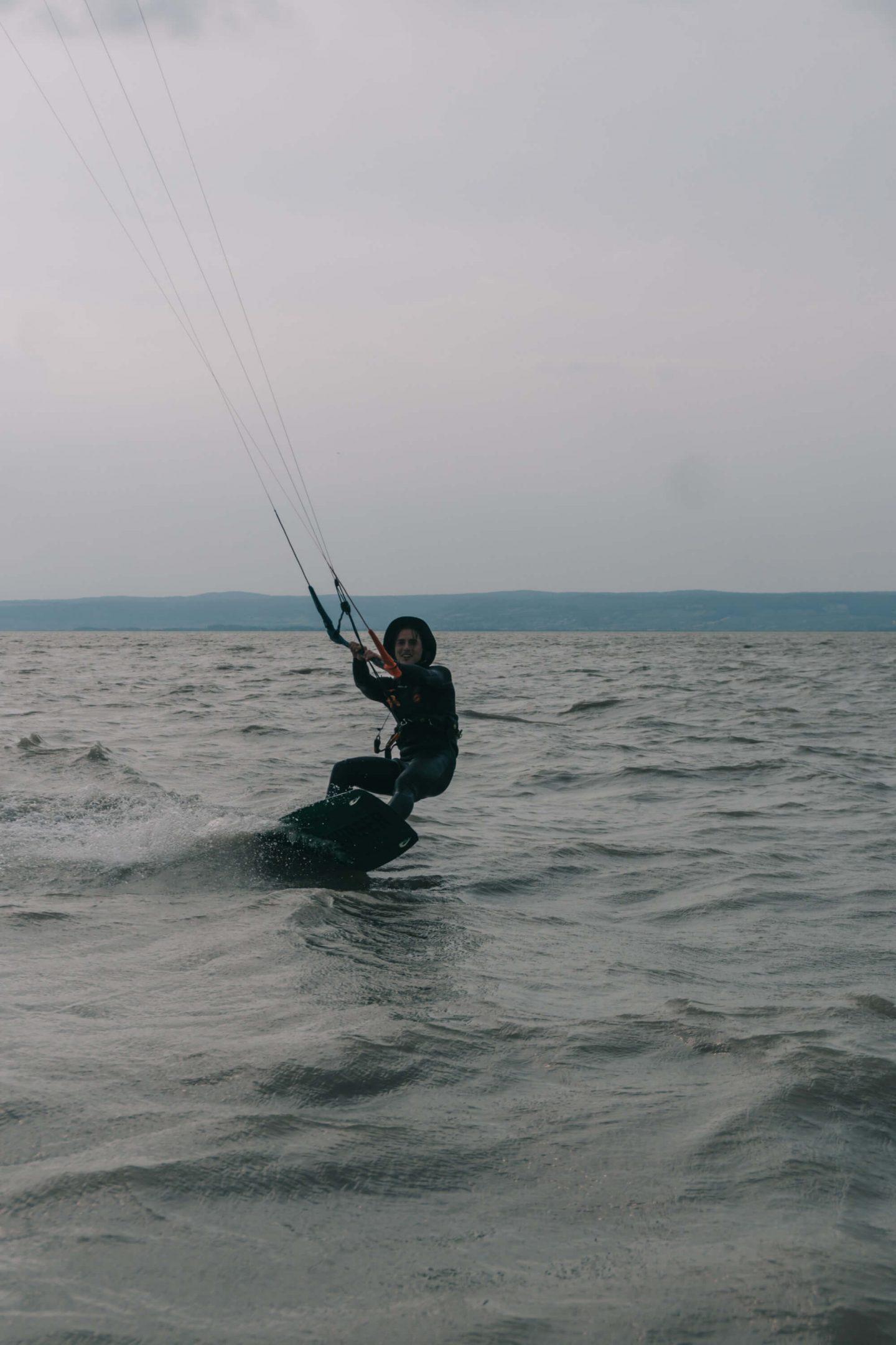 Kitesurfen mit Lake United