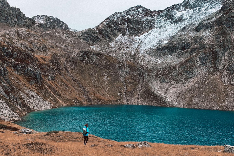 Wandern: Der Grünausee im Stubaital