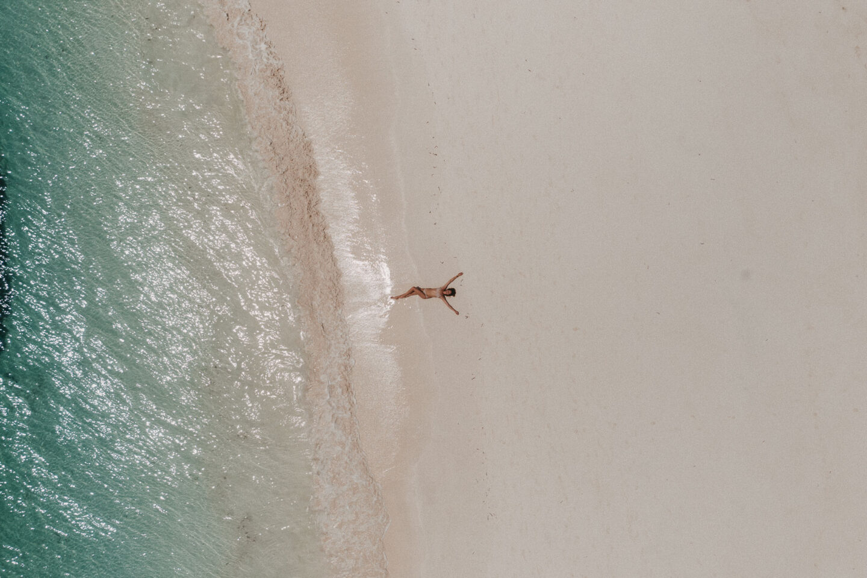 Urlaub in Kenia: Garoda Beach von oben