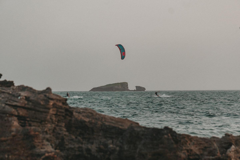 Kenia: Kitesurfen in Watamu Beach